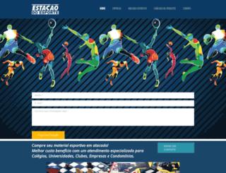 estacaoesporte.com.br screenshot