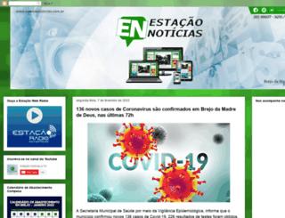 estacaonoticiasbmd.blogspot.com.br screenshot