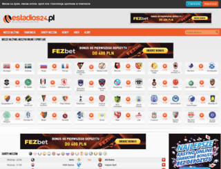 estadios.pl screenshot