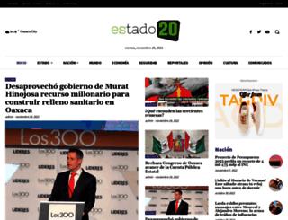 estado20.com screenshot