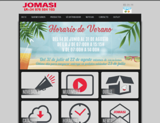 estanteriasjomasi.com screenshot