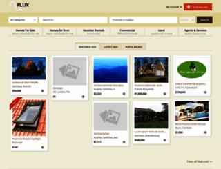 estate.oxyclassifieds.com screenshot