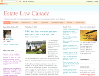 estatelawcanada.blogspot.ca screenshot