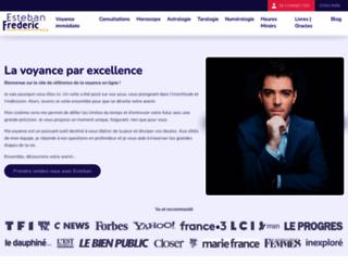 esteban-frederic.fr screenshot
