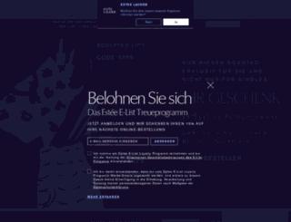 esteelauder.de screenshot