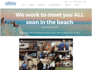 esteva.com screenshot
