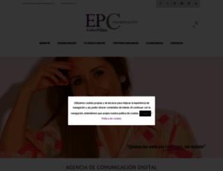 estherpalma.com screenshot