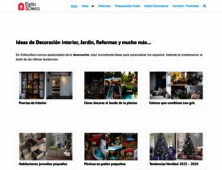 estiloydeco.com screenshot