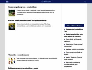 estimacao.com.br screenshot