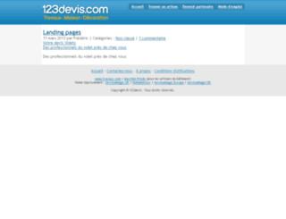 Estimation.123devis.com Screenshot