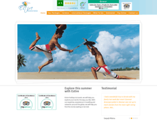 estireholidays.com screenshot