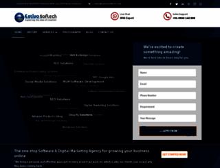 estivasoftech.com screenshot