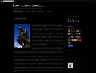 estonotienearreglo.blogspot.com.es screenshot