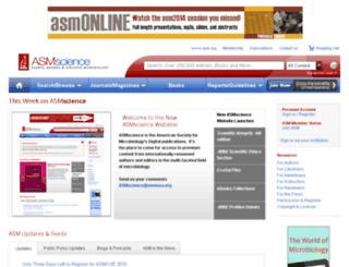 estore.asm.org screenshot