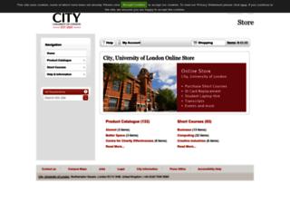estore.city.ac.uk screenshot