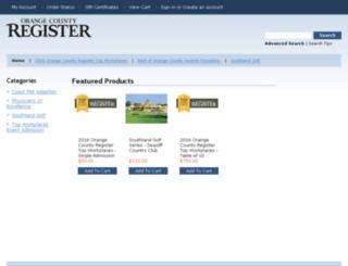 estore.ocregister.com screenshot