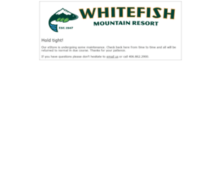 estore.skiwhitefish.com screenshot