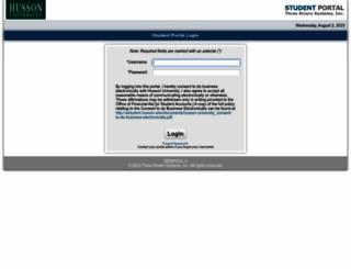estudent.husson.edu screenshot