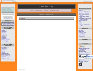 estudio103.blogspot.nl screenshot