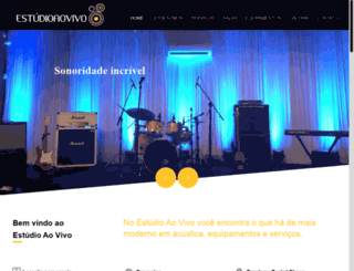 estudioaovivo.com.br screenshot