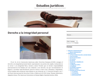 estudiosjuridicos.wordpress.com screenshot