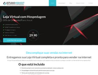 estudiowebhost.com.br screenshot