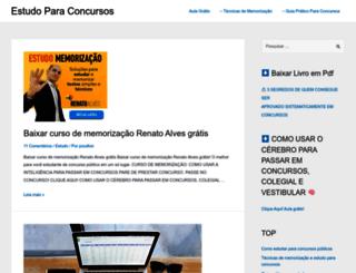 estudoparaconcursos.com.br screenshot