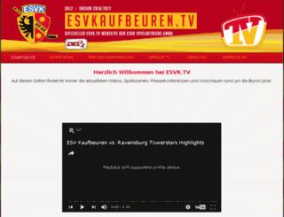 esvk.tv screenshot