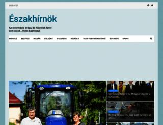 eszakhirnok.com screenshot