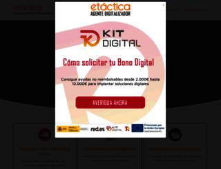 etactica.net screenshot