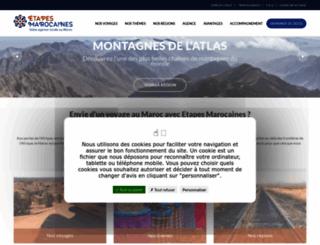 etapes-marocaines.com screenshot