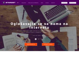 etarget.rs screenshot