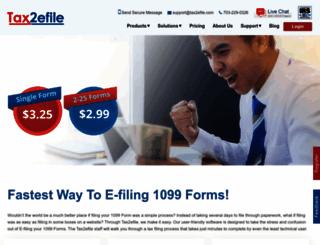 etax1099.com screenshot