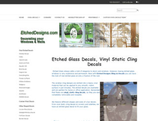 etcheddesigns.com screenshot
