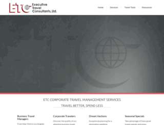 etctravel.com screenshot