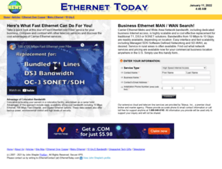 ethernettoday.com screenshot