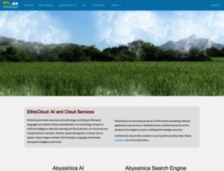 ethiocloud.com screenshot