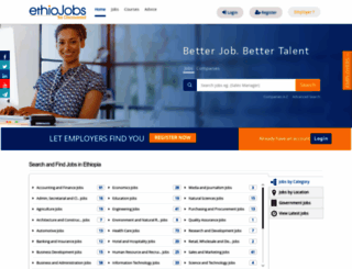 ethiojobs.net screenshot