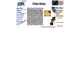 ethiomarket.com screenshot