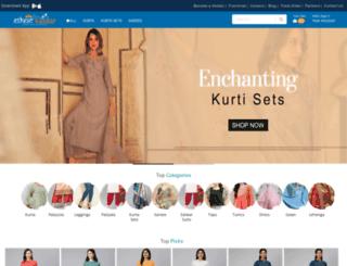 ethnicbazaar.com screenshot