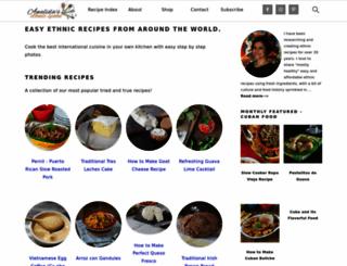 ethnicspoon.com screenshot