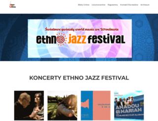 ethnojazz.pl screenshot