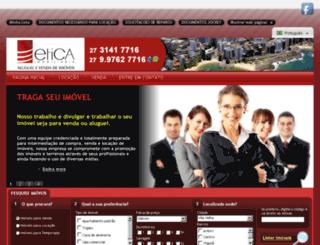 eticaimoveis-es.com.br screenshot