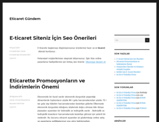 eticaretgundem.com screenshot