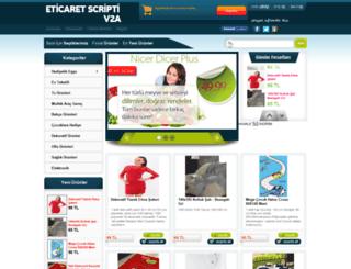 eticaretv2a.scriptevi.com screenshot