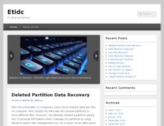 etidc.com screenshot