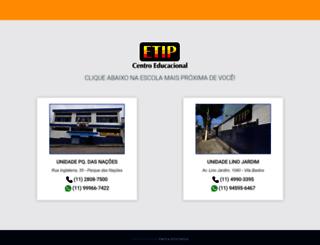 etip.com.br screenshot