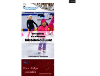 etkespoo.sporttisaitti.com screenshot