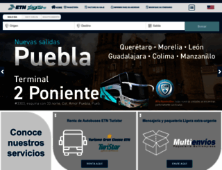 etn.com.mx screenshot