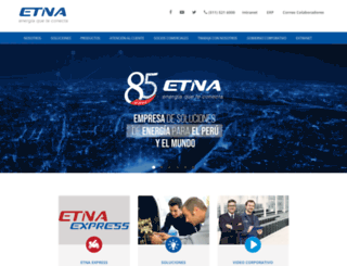 etna.com.pe screenshot